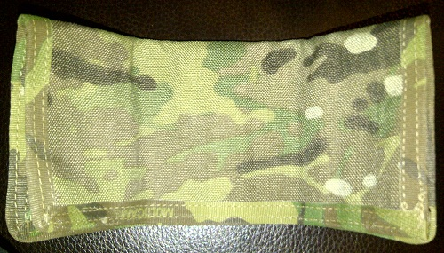 Pic of my military SERE pouch half stowed.